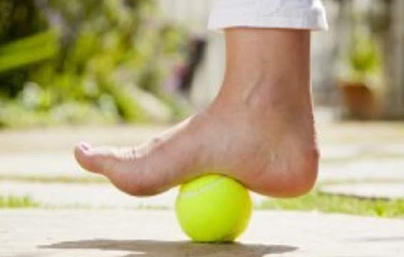 Foot Self Massage - Step Into Health Care