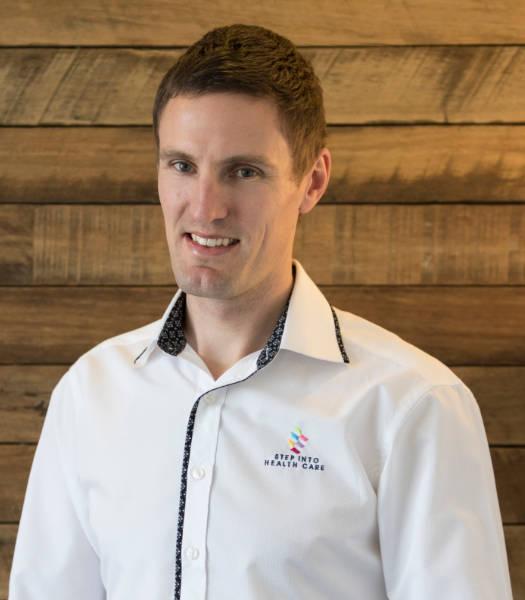 Dr Kieran Step Osteopath - Step Into Health Care Braddon Canberra