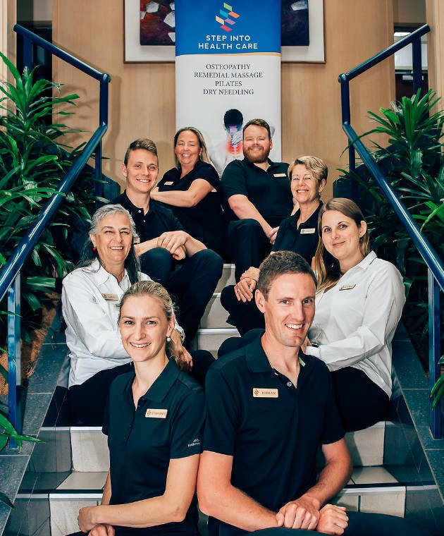 The Caring Team at Step Into Health Care Braddon Canberra