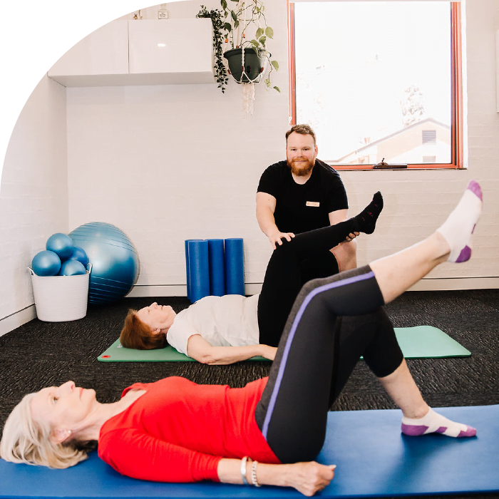 Tom Eastman Pilates Instructor - Pilates Braddon Canberra - Step Into Health Care