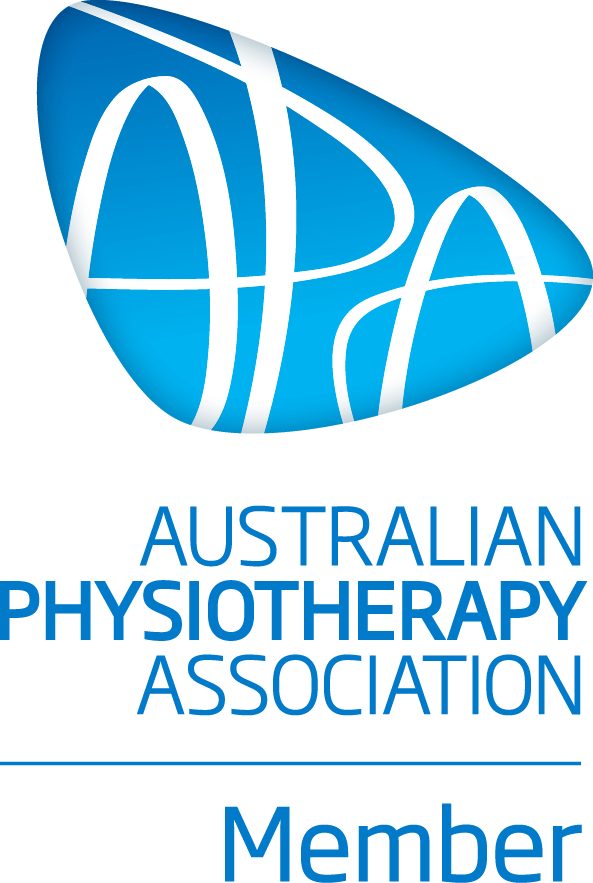 Physiotherapist Braddon Canberra - Australian Physiotherapy Association Member Logo for Step Into Health Care